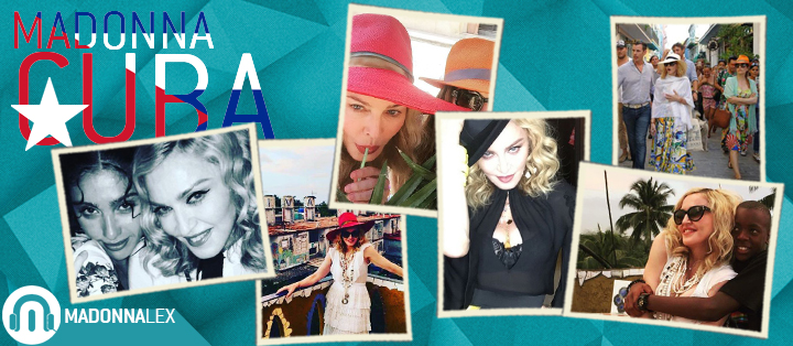 Madonna a Cuba pour ses vacances et son anniversaire
