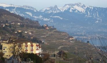 Vers Vevey et Montreux - Vignobles des Lavaux - Rochers de Naye - Dent de Jaman