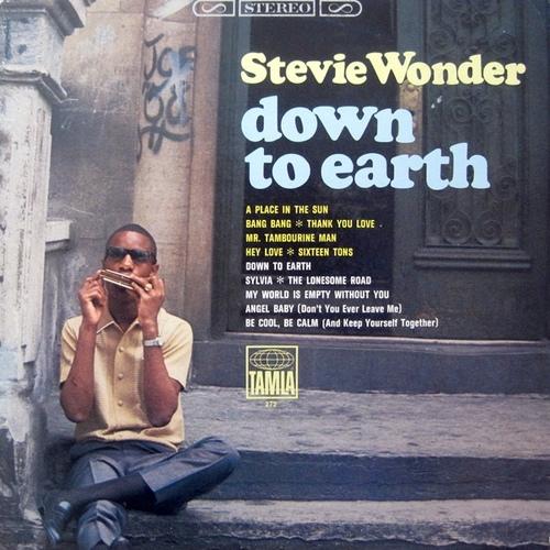 "Stevie Wonder : Album "" Down To Earth "" Tamla Records TS 272 [ US ]"