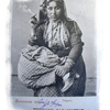 Femme tsigane fumant - 1900 - Turquie (Constantinople)