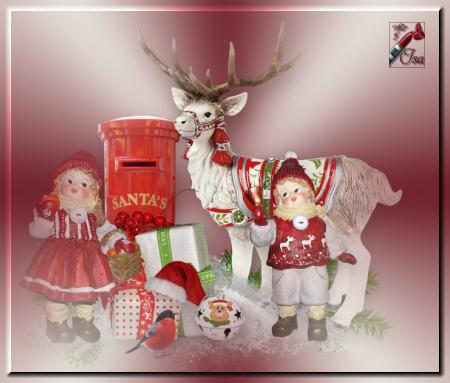 DN0029 - Tube divers Noël