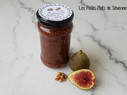 Confiture de figues et noix au Tmix