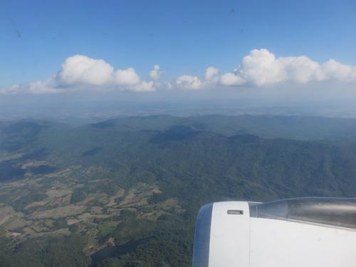En avion vers Bangkok et Chang Rai