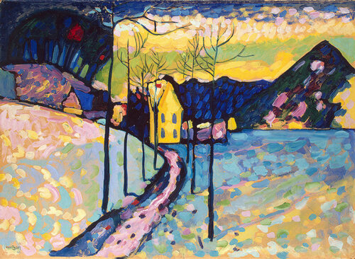 Winter Landscape - Wassily Kandinsky