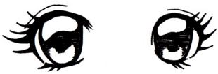 Oeil manga