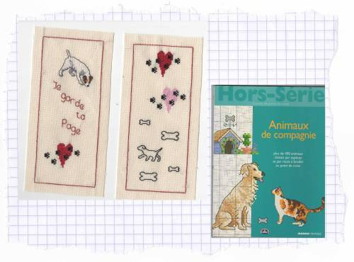marque page jack russel r