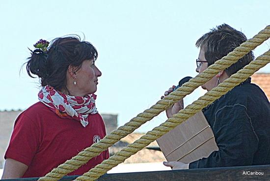 Anne Renault et Maryse Vital