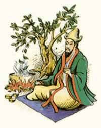 Les légendes de la découverte du thé