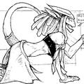 dragon girl happy