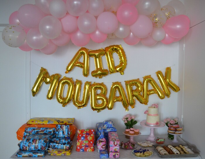 Aid Mubarak Sweet table 2020
