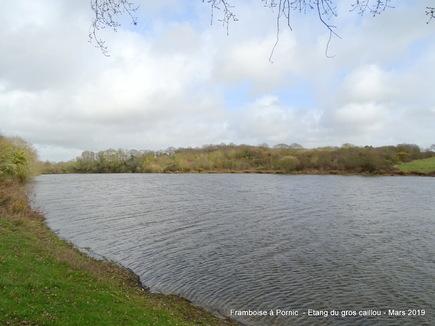 Pornic, l'étang du gros caillou - 2019
