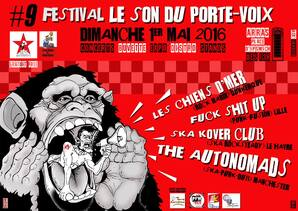 Festival le Son du Porte-Voix - Arras (Pas-de-Calais)