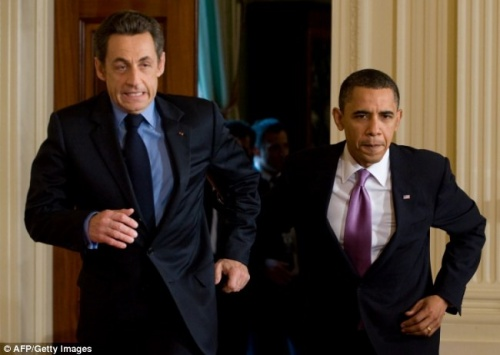 Nicolas Sarkozy, le Clint Eastwood de la politique.