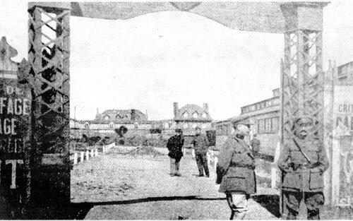 Le Cercle du soldat belge place de l'hôtel de ville