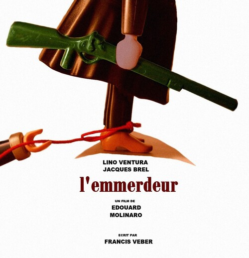 L'EMMERDEUR, affiche du film version Playmobil