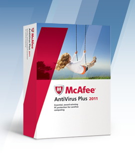 McAfee AntiVirus Plus 2011 gratuit 6 mois