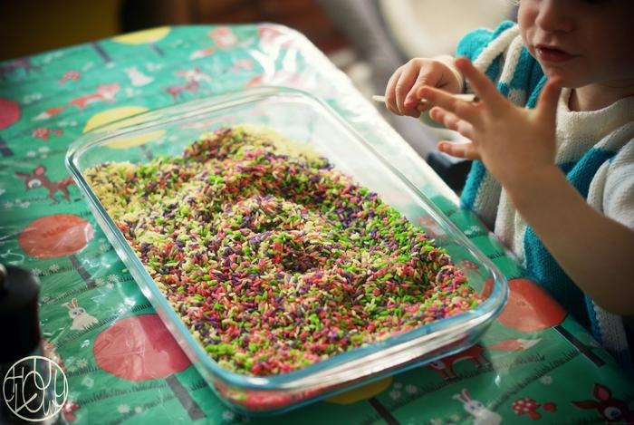 Patouille n°7 : fabriquer du riz coloré (tutoriel)