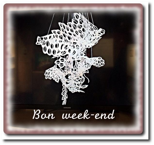 C'est le week-end...