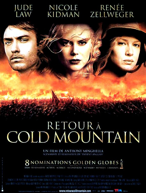 retour a cold mountain box office france 2004