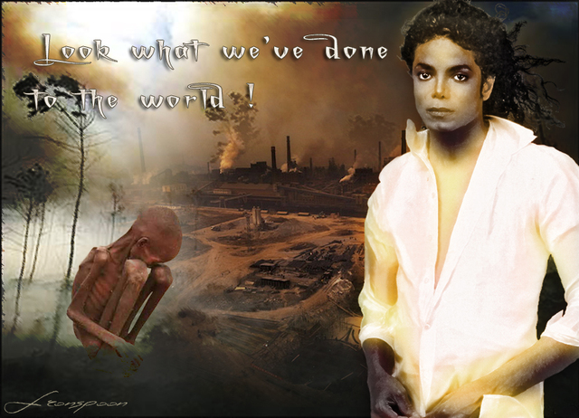 Créa pour Earth Song