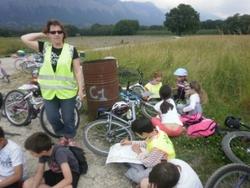 A vélo, à cheval ou sur un tracteur dans la plaine des Voûtes...