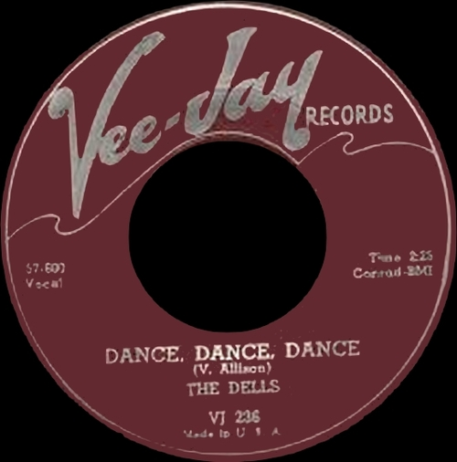 "The Dells : CD "" The Early Singles Vee Jay Records 1954-1958 "" SB Records DP 25 [ FR ]"
