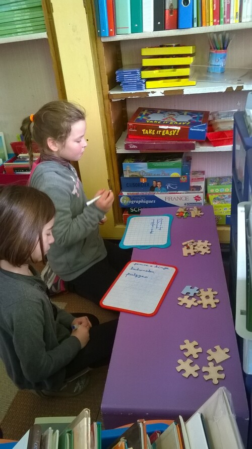 Apprentissage de la multiplication en CE2