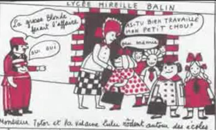 """➤ """"La vilaine Lulu"""" de Yves Saint-Laurent - La BD choc d'initiation au satanisme"""