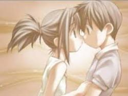 Small kiss...