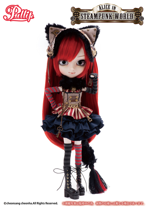 Octobre : Pullip Cheshire Cat in Steampunk World