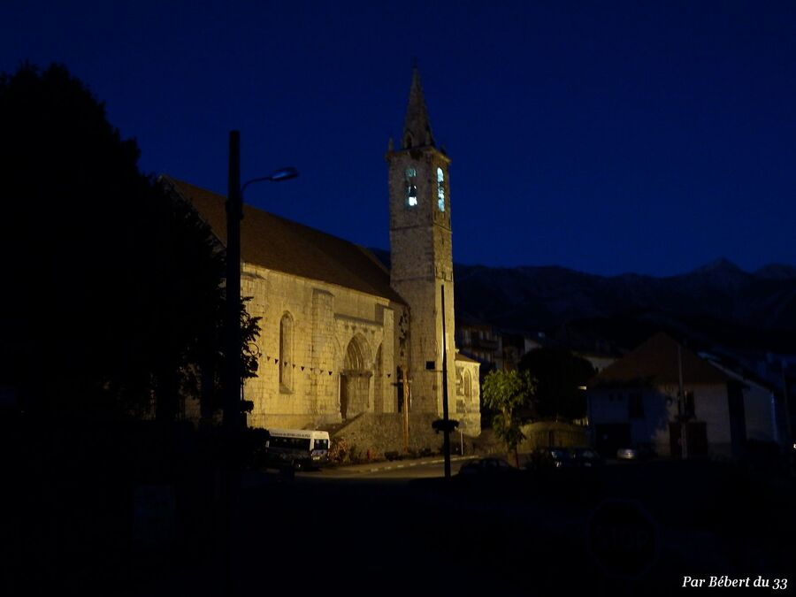 Seyne les Alpes  le soir (4)