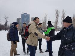NDK: bataile de boules de neige