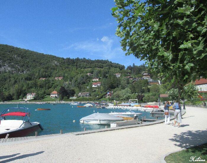 Retrouvailles au bord du Lac d'Annecy