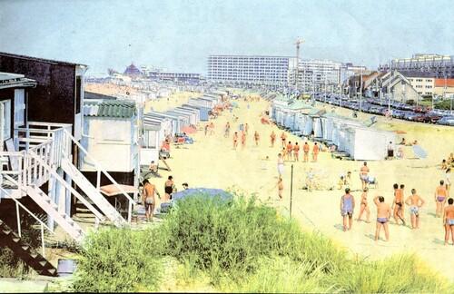 Moins de chalets sur la digue, plus sur la plage