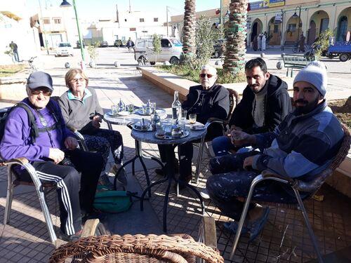 Avec notre  guide Mohamed et notre chauffeur Rachid