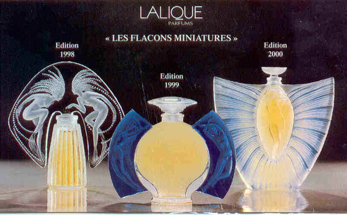""""" les Flacons de Parfums de collection.."""""