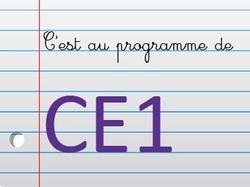 CE1 - Mme Genève-Lalonde