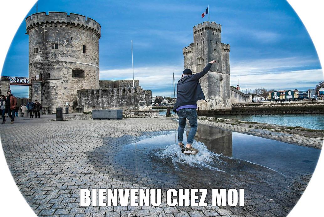 La France a une figure,La Rochelle a une âme....