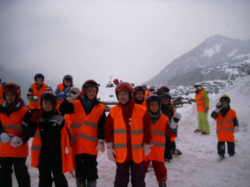 En route pour le ski : deuxième séance