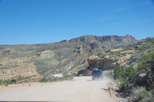 Jour 14 - l'Apache Trail, Tonto National Forest, Arizona