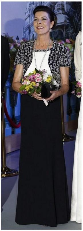 Caroline au bal de la rose
