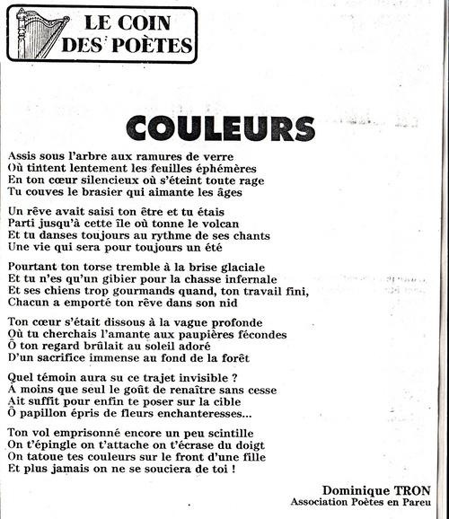 opus 600 : COULEURS