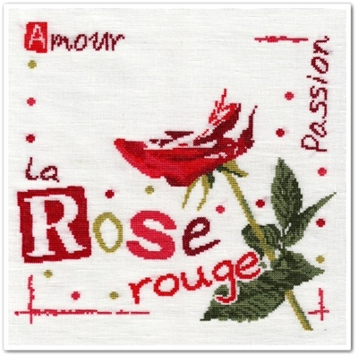 La Rose Rouge de Lilipoints 4