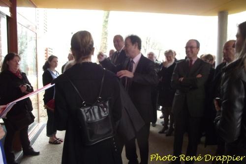 L'inauguration de la nouvelle piscine de Châtillon sur Seine...