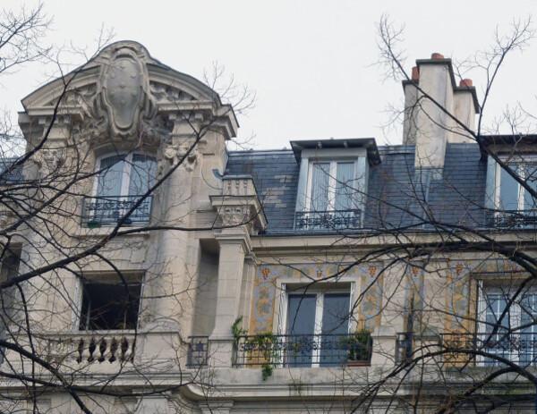 55 - Square Trousseau - façades