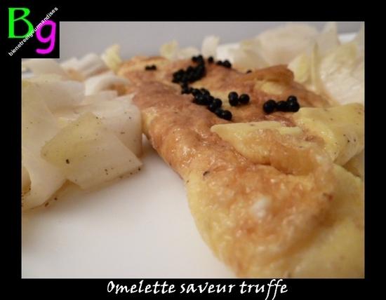 omelette truffe