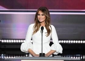 Donald Trump croqué en huit femmes
