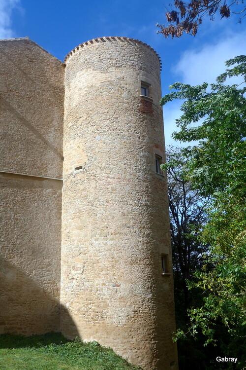 Montmaur: le château ...