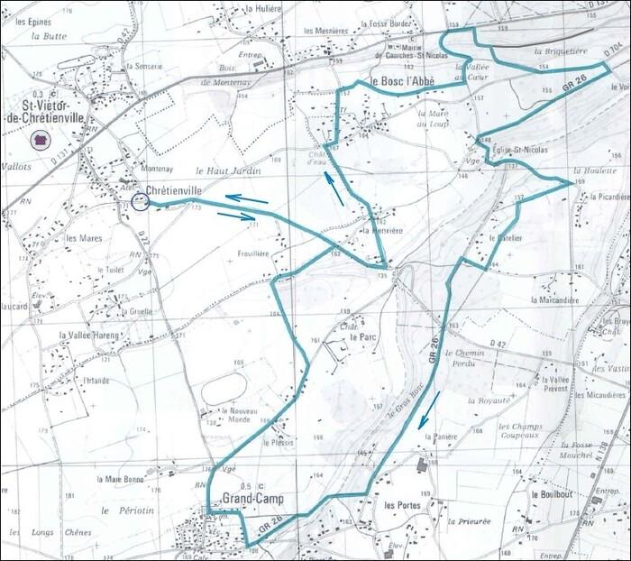 Le circuit du Gros Bosc (Ancien tracé)