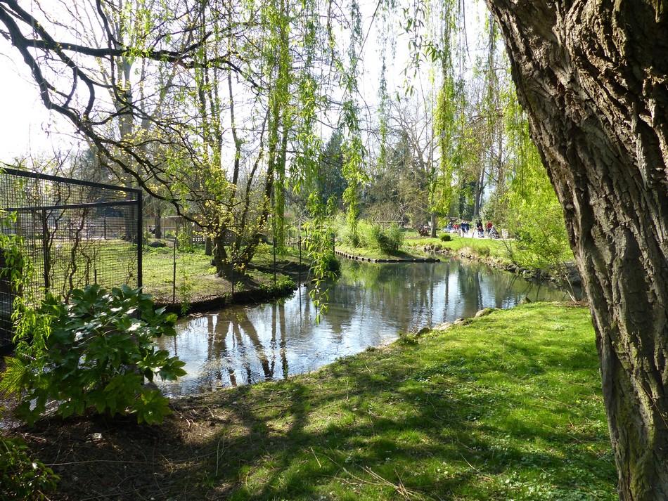 Le parc du Zoo d'Amiens